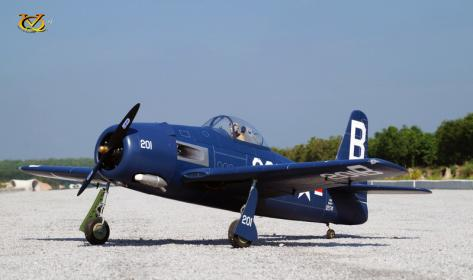 VQ Model - F8F Bearcat EP/GP 30cc Size ARF