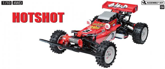 Tamiya - 1/10 Hotshot 4WD Re-Release Kit