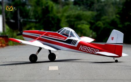 VQ Model - Cessna 188 AGwagon EP/GP 60-90 Size ARF - Red/White