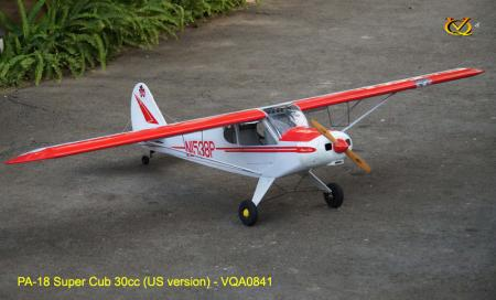VQ Model - Piper PA-18 Super Cub GP 30cc ARF Kit - 2.7m Wingspan