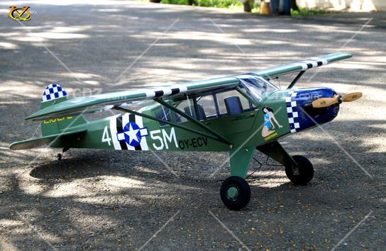 VQ Model - L-4A Grasshopper EP/GP 46 Size ARF - RCNZ