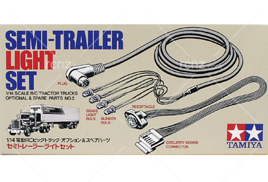 Tamiya - 1/14 Semi-Trailer Light Set image