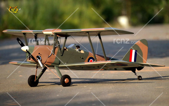 VQ Model - DH-82 Tiger Moth EP/GP 46 Size ARF image