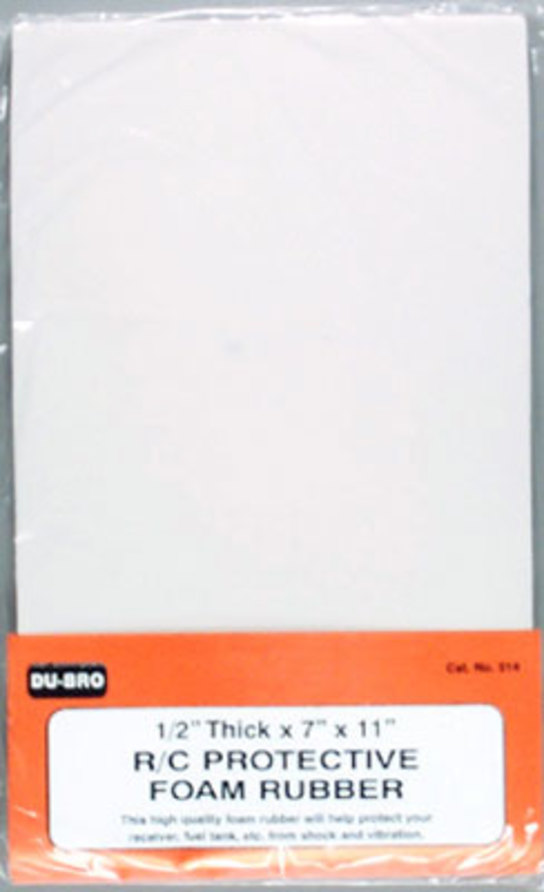 Dubro - 1/2 R/C Protect  Foam Rubber image