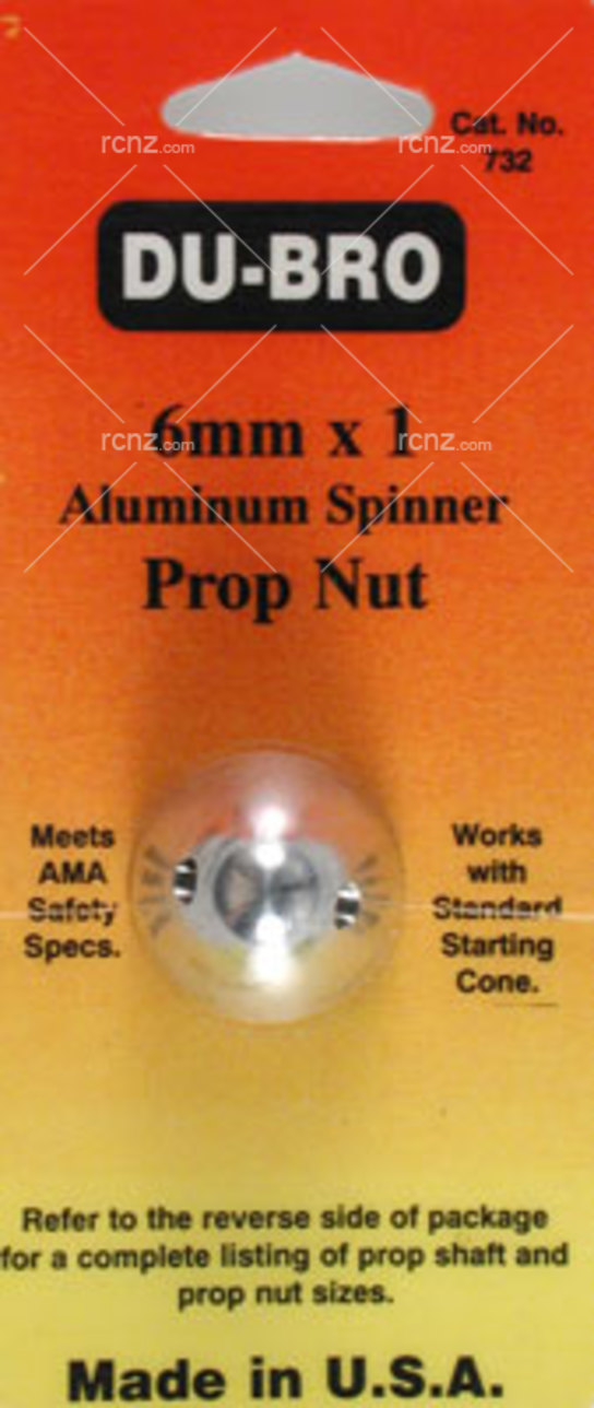 Dubro - Alum Spinner Prop Nut image