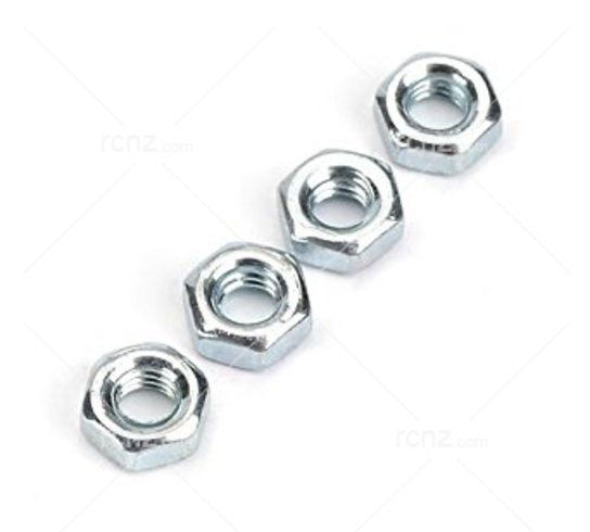 Dubro - 2.5mm Hex Nuts(4) image