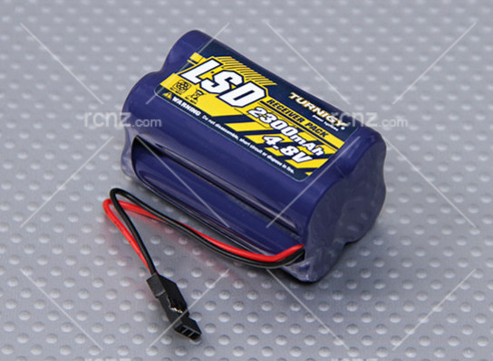 Turnigy - 4.8V Ni-Mh Receiver Battery Pack 2300mah (Square) image