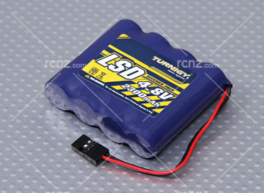 Turnigy - 4.8V Ni-Mh Receiver Battery Pack 2300mah (Flat) image