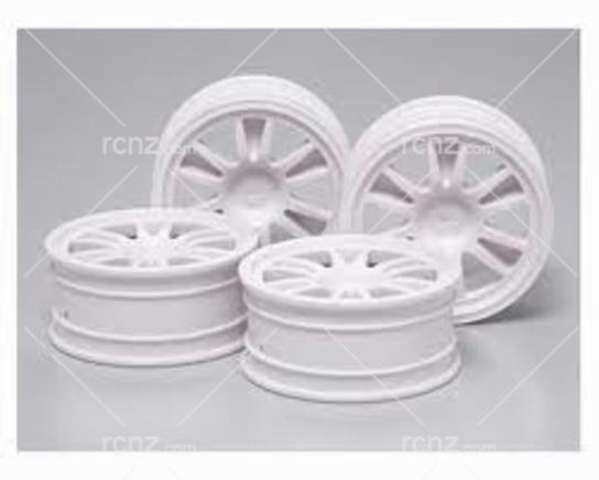 Tamiya - M-N 12 Spoke Wheels 24mm/+2 image
