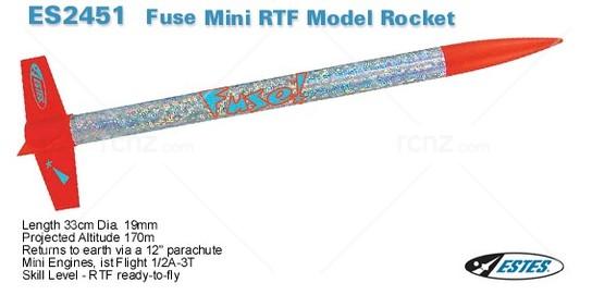 Estes - Fuse Rocket Kit - RCNZ