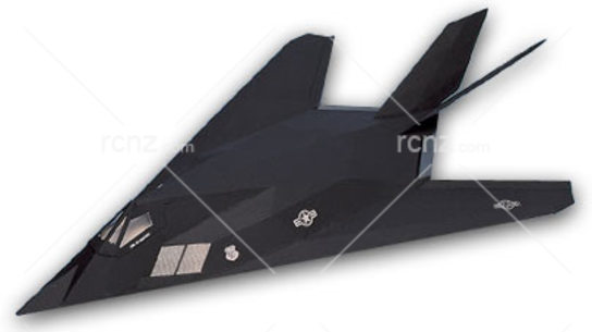 West Wings - F117A Stealth Fighter Balsa Wood Kit image