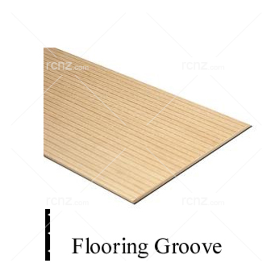 "Midwest - Basswood 24"" Flooring 3/8"" Groove 1/16x3"" image"