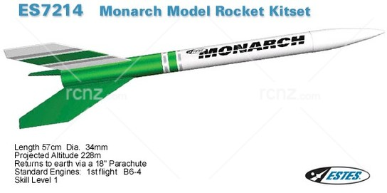 Estes - Monarch Rocket Kit image