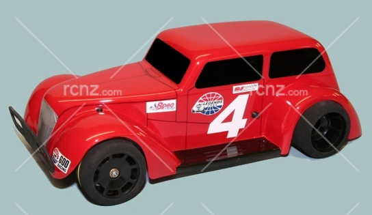 RJ Speed - 1/10 Legends Spec Sedan 2WD Kit image