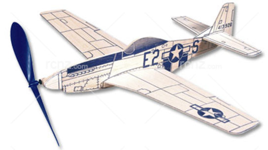 West Wings - Profile Mustang Balsa Wood Kit image