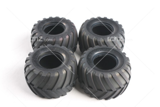Tamiya - Midnight Pumpkin Tyre Set 4 Piece image