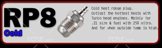 OS -  #P8 (RP8) Turbo Glow Plug On-Road Cold image