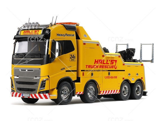 Tamiya - 1/14 Volvo FH16 Globetrotter 750 8X4 Tow Truck image