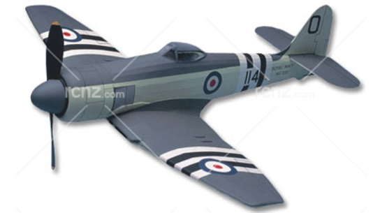 West Wings - Hawker Sea Fury Balsa Wood Kit image