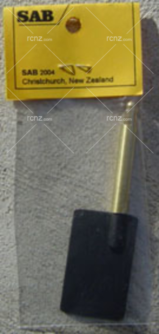 SAB - Brass Rudder 30mm - 1/8 Shaft image