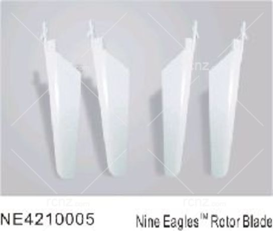 Nine Eagles - Micro Heli Blades White  image