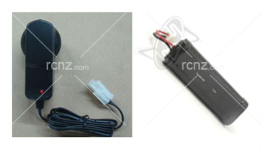 RCNZ - 7.2V Battery & Charger Combo image