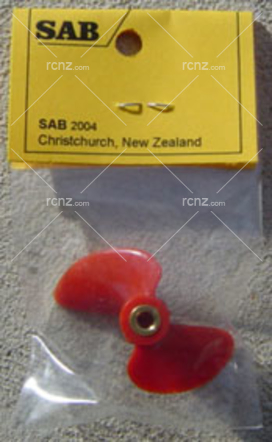 SAB - Prop 2 Blade Red SR35 M4 Thread image
