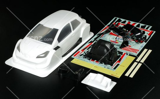 Tamiya - 1/10 Toyota Yaris WRC Pre-Painted Body Set image