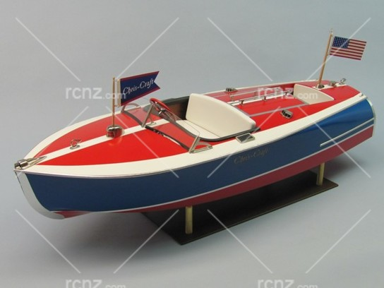 "Dumas - Chris-Craft Painted Racer Kit 24"" (RC Compatible) image"