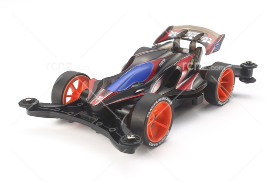 Tamiya - 1/32 Mini 4WD JR Aero Manta Ray Black Special (AR Chassis) Kit image