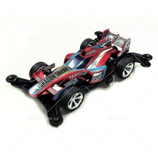 Tamiya - 1/32 Shadow Shark Red Metallic LE Racing Mini 4WD Kit  image