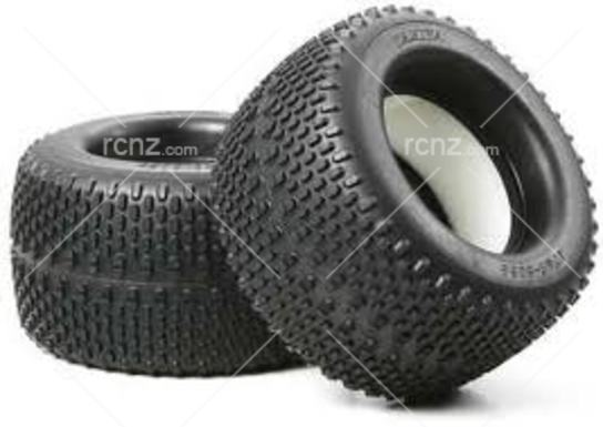 Tamiya - Oval Spike tyre 150/80 With Sponge  image