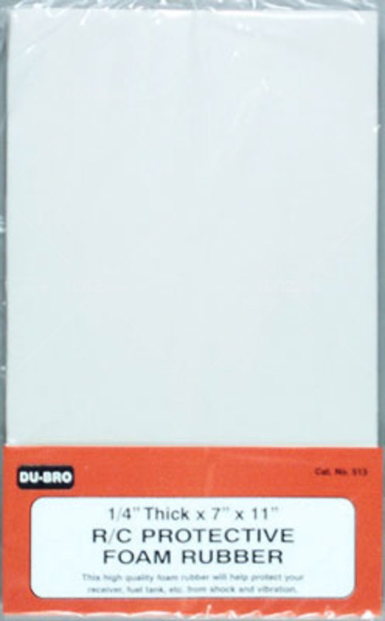 Dubro - 1/4 R/C Protect Foam Rubber image