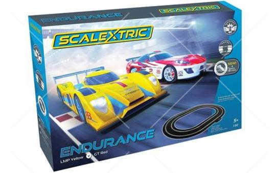 Scalextric - 1/32 Endurance Slot Car Set (LMP Vs GT Red) image