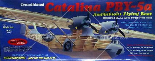 Guillow's - PBY5A Catalina Balsa Kit image