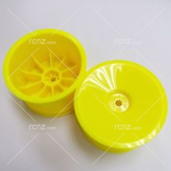 Tamiya - 4WD Buggy Yellow Rear Dish Hex Hub image