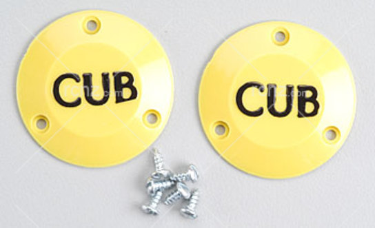 Dubro - 1/4 Scale Cub Caps W/Screws image
