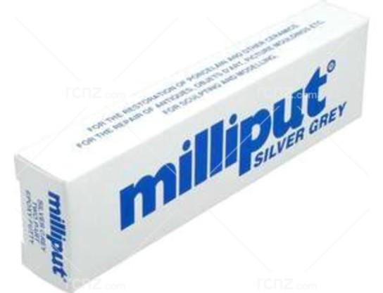 Milliput - Silver Grey Epoxy Putty - RCNZ