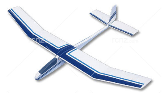 West Wings - Merlin Glider Balsa Wood Kit image