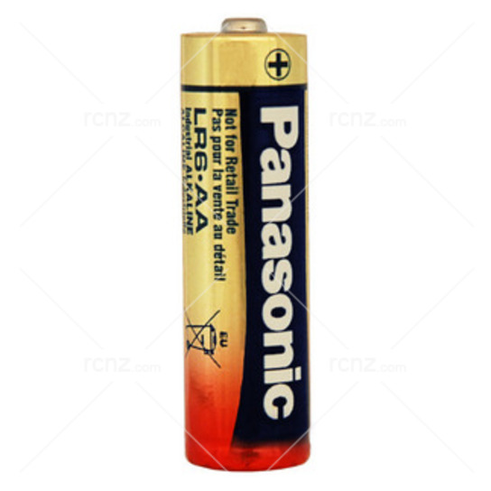 Panasonic - AA Alkaline Batteries - 4 Pack image