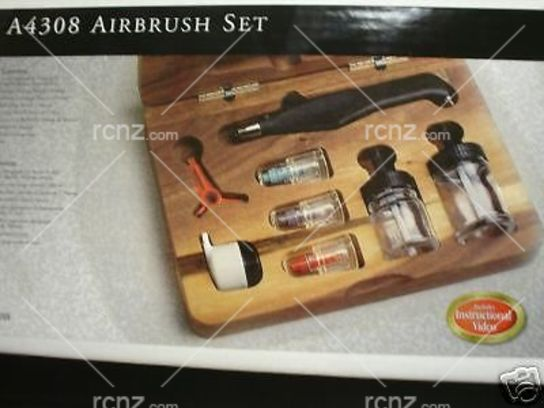 Testors - Aztek Double Action Int. Mix Airbrush Set image