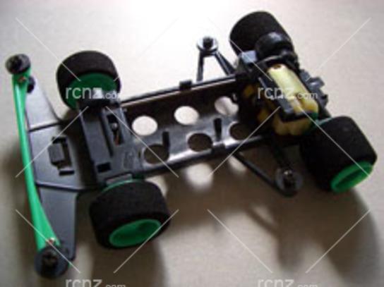 Tamiya - 4WD Mini Racer Low Height One-way Wheel Set image