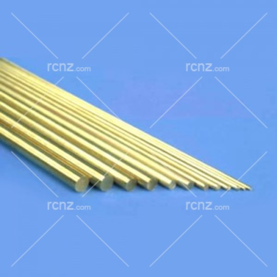 "K&S - Solid Brass Rod .114  x 12"" (2) image"