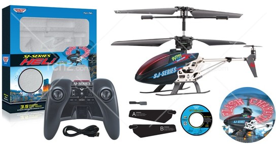 SJ - R/C Heli with Sky Writing Function RTF image