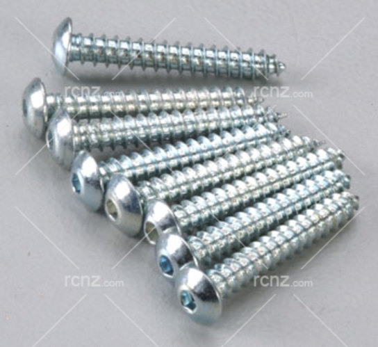 Dubro - 4x3/4 Button Head Screws  image
