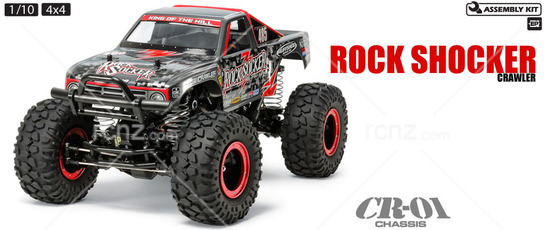 Tamiya - 1/10 Rock Socker CR-01 Crawler Kit image