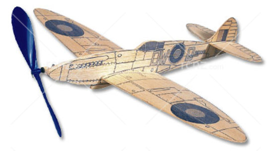 West Wings - Profile Spitfire Balsa Wood Kit image