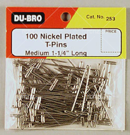 Dubro - Stainless Steel T-Pin 1-1/4 image