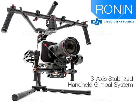 DJI - Ronin-M 3 Axis Stabilized Handheld Gimbal System image
