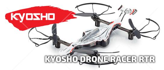 Kyosho - 1/18 G-ZERO Dynamic Racing Drone RTF - RCNZ